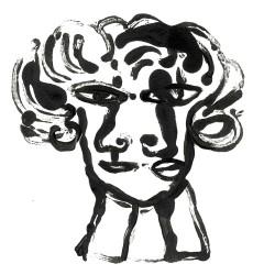 2009 dibujos para ilusraciones cabeza 7