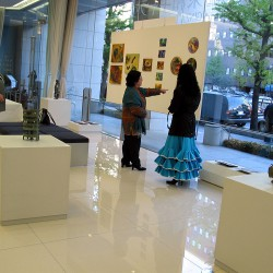 ginza towa gallery.Tokio